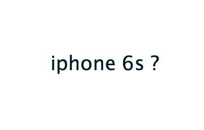 iphone6s?